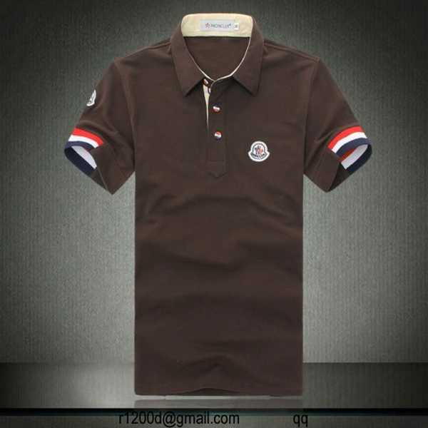 polo moncler homme soldes