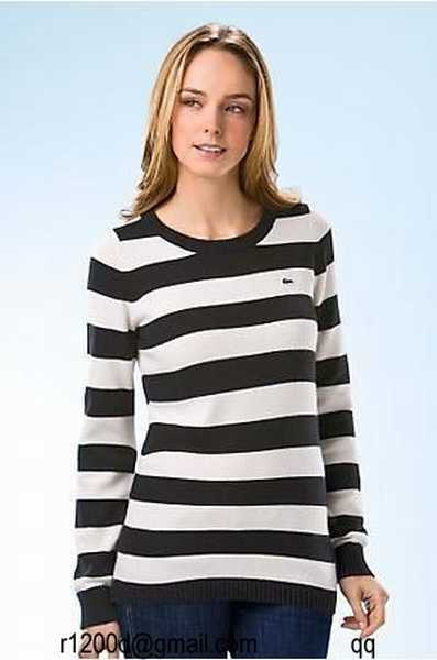 6652a990f7 Femme Bas Prix Pull Femme V Lacoste Rouge pull pull Col wgEX7g