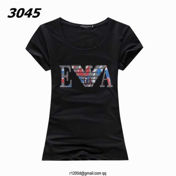 tee shirt armani femme strass t shirt de marque femme tee. Black Bedroom Furniture Sets. Home Design Ideas